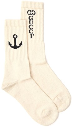 Gucci Anchor Socks