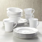 Crate & Barrel Savannah 16-Piece Dinnerware Set