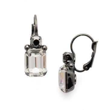 Zelmira Stud Earrings - Gun Metal
