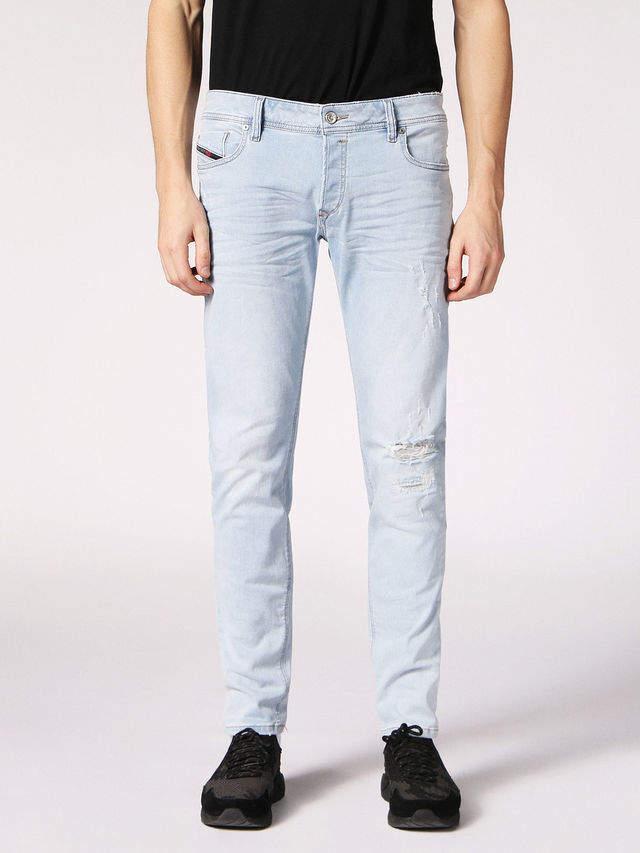 Diesel SLEENKER Jeans C689L - Blue - 32
