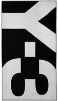 Y-3 Y 3 Black and White Logo Towel