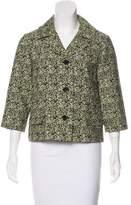 Marni Jacquard Notch-Lapel Jacket