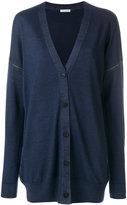 Tomas Maier zip sleeves cardigan