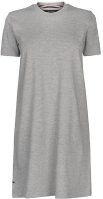 Kangol Crew Neck T Shirt Dress Ladies