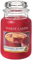 Yankee Candle Rhubarb Crumble Large Jar Candle