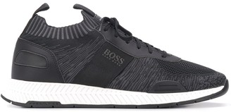 BOSS Knitted Sock Low-Top Sneakers