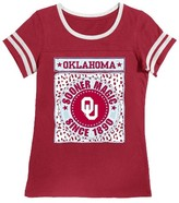 NCAA Oklahoma Sooners Girls Foil T-Shirt