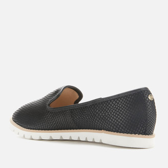 Dune Women's Galleon Leather Comfort Loafers