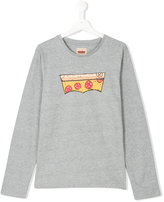 Levi's Kids pizza print sweatshirt