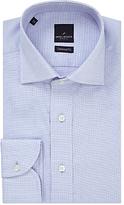 Daniel Hechter Nailhead Check Tailored Fit Shirt, Blue