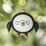 Crate & Barrel Penguin with Glasses Ornament