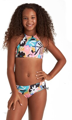 Billabong On and On Reversible High Neck Two-Piece Swimsuit