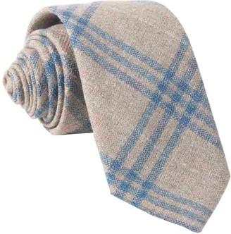 Tie Bar Barberis Wool Neutro Oatmeal Tie