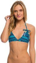 Roxy Swimwear Native Geo Fixed Triangle Bikini Top 8138209