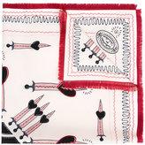 Valentino Love Blade scarf - women - Silk - One Size