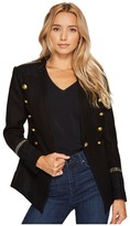 Romeo & Juliet Couture Military Jacket with Shoulder Patch