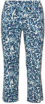 NYDJ Plus Size Printed bootcut trousers