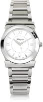 Salvatore Ferragamo Vega Silver Tone Stainless Steel Women's Watch