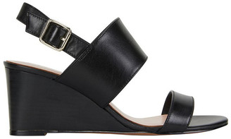 Jane Debster Diana Black Glove Sandal