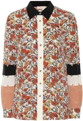 Tory Burch Floral silk shirt