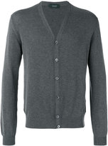 Zanone v-neck cardigan - men - Cotton - 50