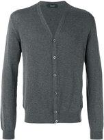 Zanone v-neck cardigan - men - Cotton - 54