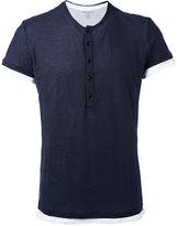Majestic Filatures contrast T-shirt - men - Cotton - L