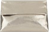 Accessorize Oksana Crackle Leather Clutch Bag