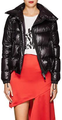 Sacai Women's Asymmetric Tech-Fabric Puffer Jacket - Black