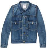 Visvim Slim-Fit Washed-Denim Jacket