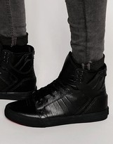 Supra Skytop Classics Leather Sneakers