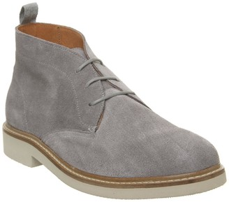 Shoe The Bear Seaford Chukka Boots Light Grey Suede