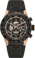 Tag Heuer CAR2A5A.FT6044 Carrera titanium and rose-gold watch