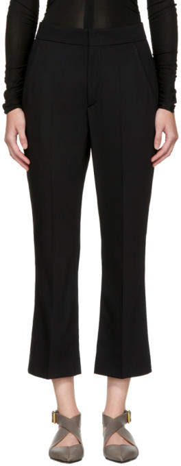 Isabel Marant Black Maroan Trousers