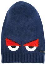 Fendi 'Monster' beanie - kids - Polyamide/Viscose/Cashmere/Virgin Wool - 52 cm