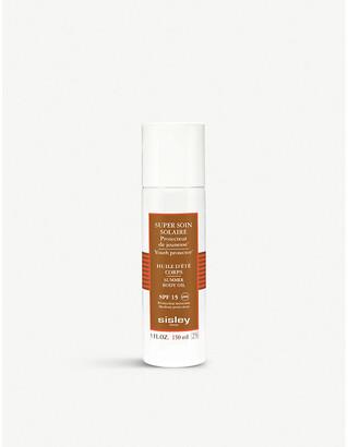 Sisley Summer body oil spf15