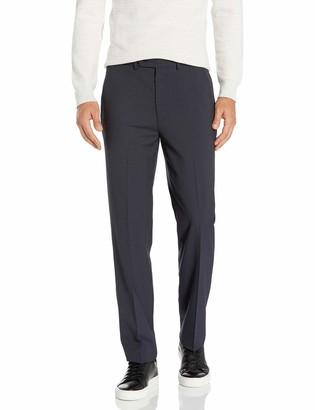 Nautica Men's Bi-Stretch Slim Fit Suit Separate (Blazer and Pant) Navy Stripe 42L