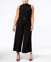 MICHAEL Michael Kors Size Wide-Leg Jumpsuit