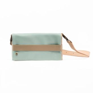 Maria Maleta Belt Bag Light Blue & Beige Alba
