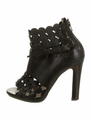 Christian Louboutin Amazona 120 Leather Boots Black