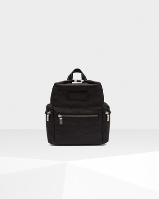 Hunter Refined Jacquard Mini Top Clip Backpack