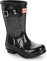 Hunter kids glitter wellington boots 3-7 years