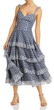 Rebecca Taylor La Vie Petula Ruffled Dress