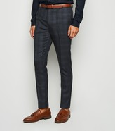New Look Check Suit Trousers