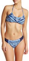 Nanette Lepore Santorini Scallop Halter Bikini Top