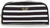 Kate Spade Classic Nylon Berrie Striped Cosmetic Case