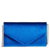 Amici Accessories Velvet Envelope Crossbody Bag