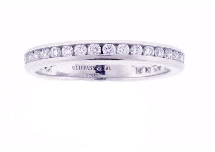 Tiffany & Co. Platinum Diamond Eternity Bands