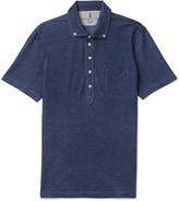 Brunello Cucinelli - Slim-fit Button-down Collar Cotton-piqué Shirt