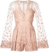 Zuhair Murad - embellished romper - women - Silk/Polyamide - 40